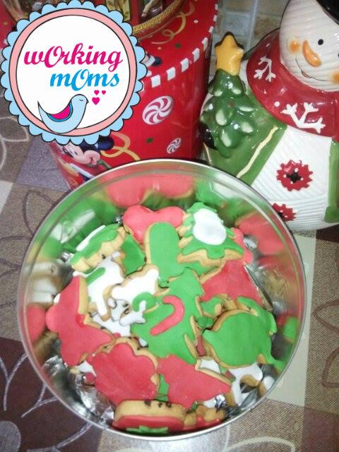 Φτιάξτε μόνοι σας χριστουγεννιάτικα μπισκότα με ζαχαρόπαστα!