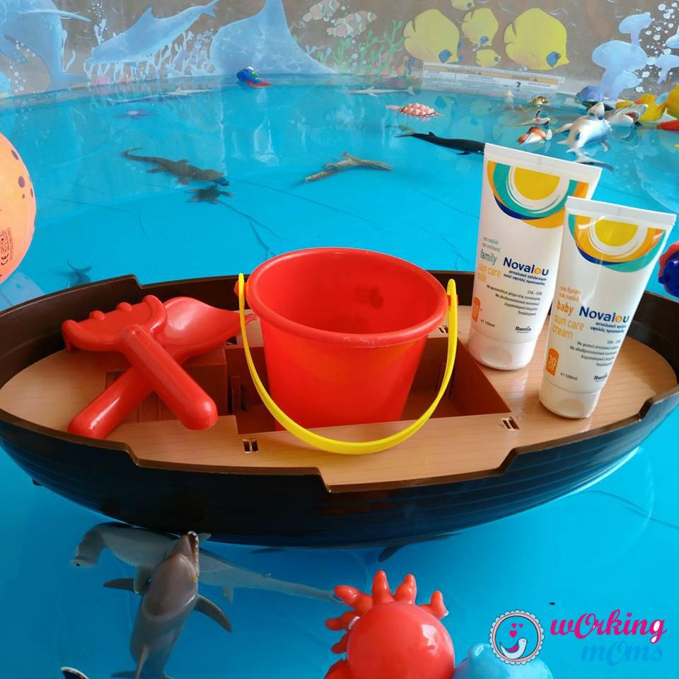 Καλοκαιρινή βόλτα ή μπάνιο στη θάλασσα χωρίς αντηλιακό δε γίνεται!