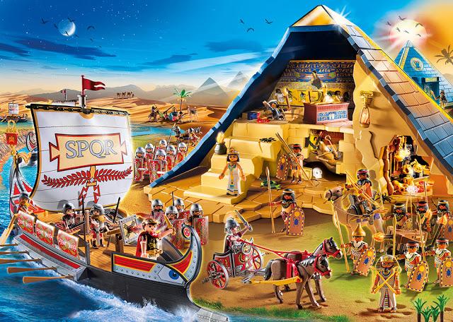 Συναρπαστικές Περιπέτειες με τους Ρωμαίους στην αρχαία Αίγυπτο από την Playmobil