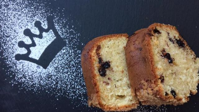 Μαμαδίστικο κέικ με βατόμουρα