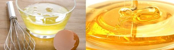 Φυσική Mάσκα με μέλι & ασπράδι αυγού κατά της ακμής