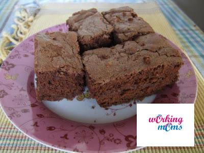 Πανεύκολα Brownie's με 5 υλικά της Ανδριάνας
