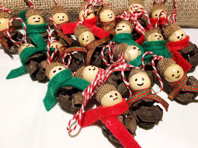Diy Χριστουγεννιάτικα στολίδια παιδάκια!