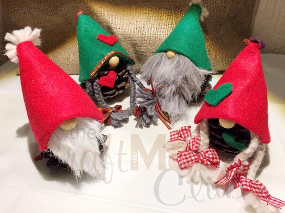 Φτιάξτε παρέα με τα παιδιά σας Χριστουγεννιάτικα Ξωτικά!
