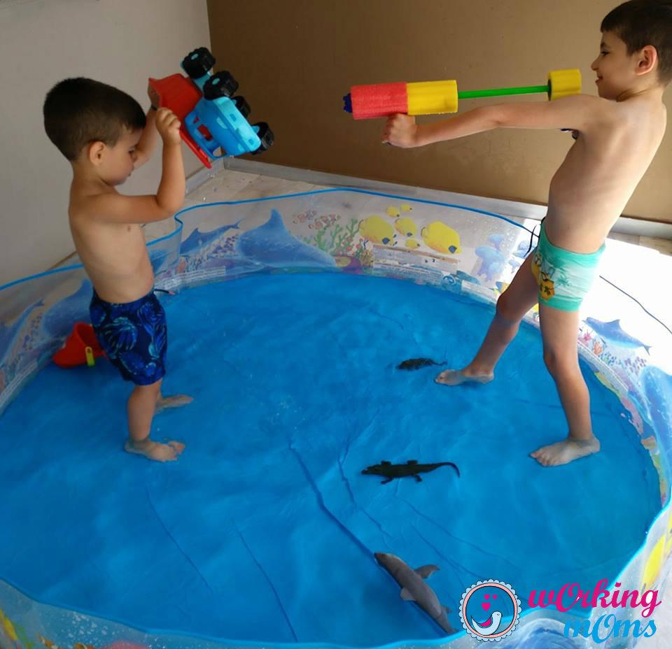 Ιδέες για να περνάτε όμορφα το καλοκαίρι με τα παιδιά ακόμα και στο σπίτι