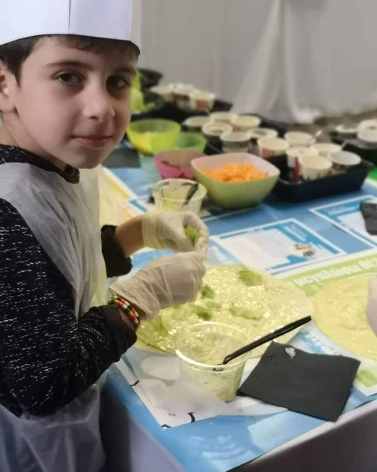 Ο Κωνσταντίνος έγινε σεφ για μια μέρα!