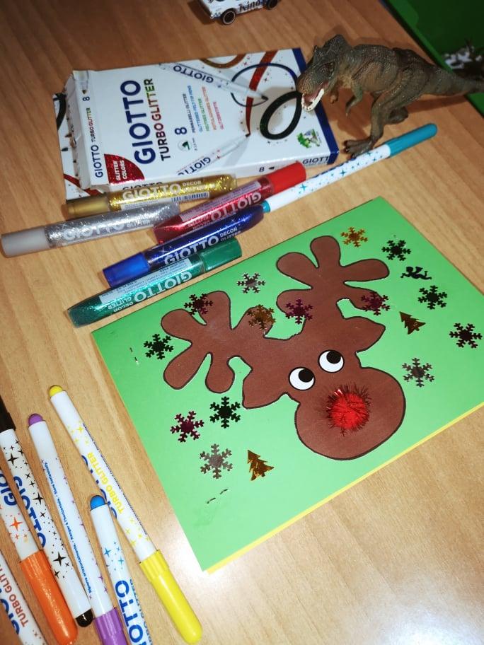 Τα παιδιά σας έφτιαξαν Χριστουγεννιάτικες Κάρτες;