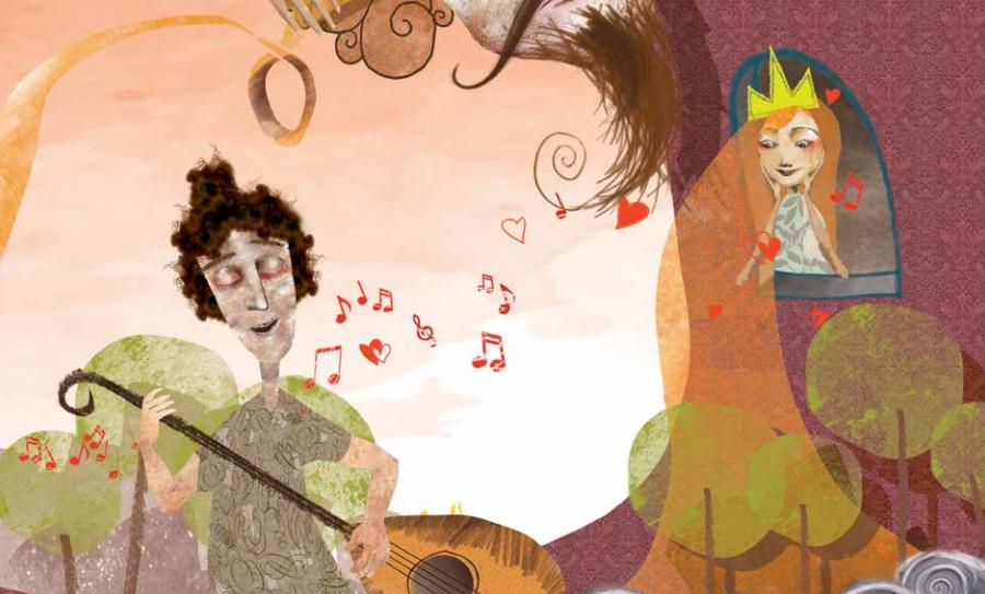 Τι έγινε όταν η όμορφη Αρετούσα άκουσε το τραγούδι του Ερωτόκριτου και μαγεύτηκε;