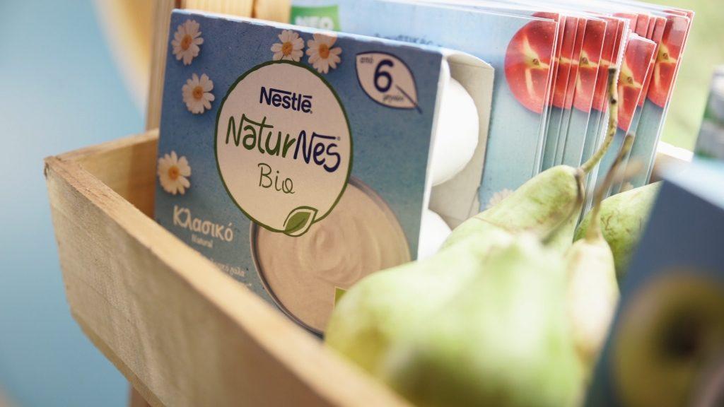 Νέα βιολογικά επιδόρπια γιαουρτιού για τα παιδιά μας από τη Nestlé