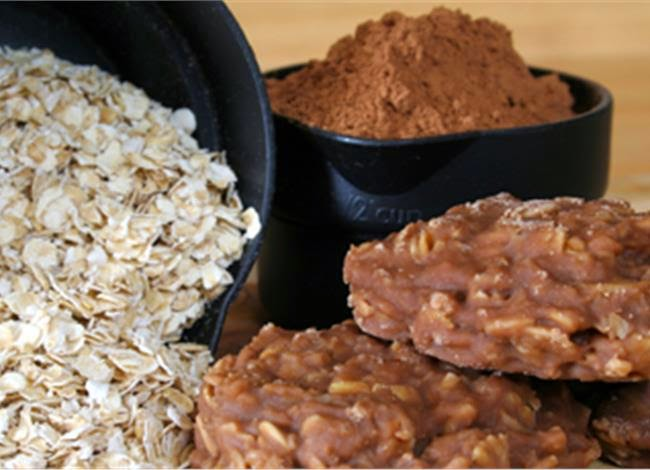 Cookies με Quaker σε 3 λεπτά, χωρίς ψήσιμο!