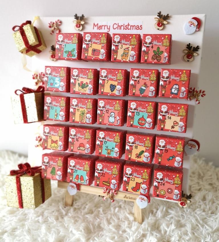 To πιο εύκολο και όμορφο ημερολόγιο αντίστροφης μέτρησης Χριστουγέννων