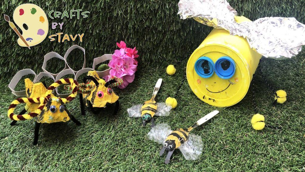 Φτιάξτε μέλισσες μαζί με τα παιδιά σας!